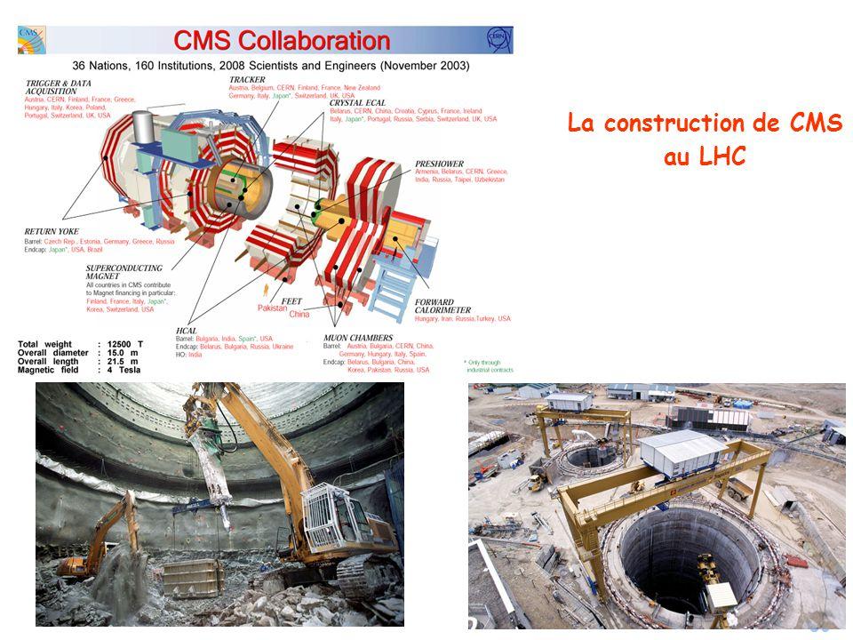 80 La construction de CMS au LHC