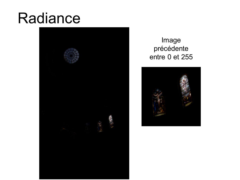 Image précédente entre 0 et 255