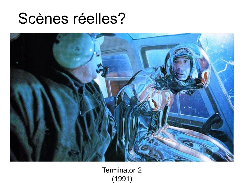 Scènes réelles Terminator 2 (1991)