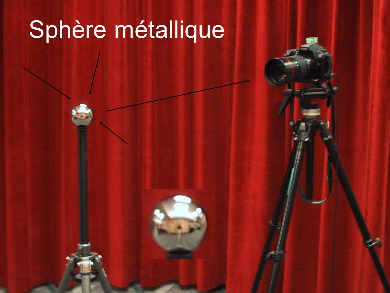 Sphère métallique