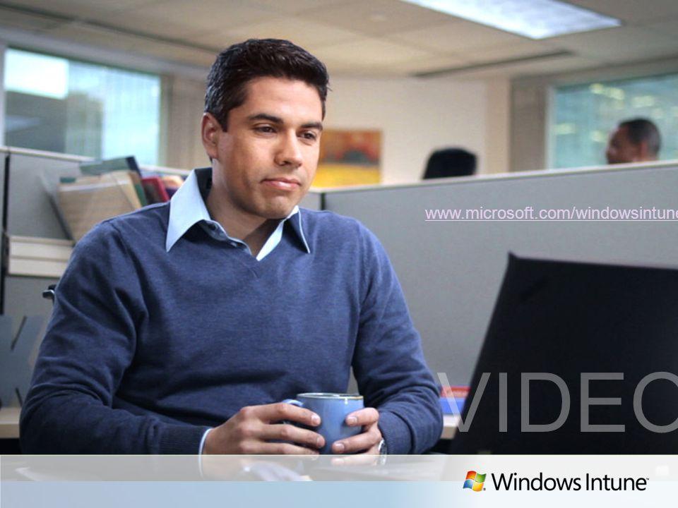Windows Intune EA - Procédure dachat Le client Si vous utilisez le MOCP pour la première fois : sélectionnez la région, connectez-vous à laide du Windows Live ID associé à lentreprise.