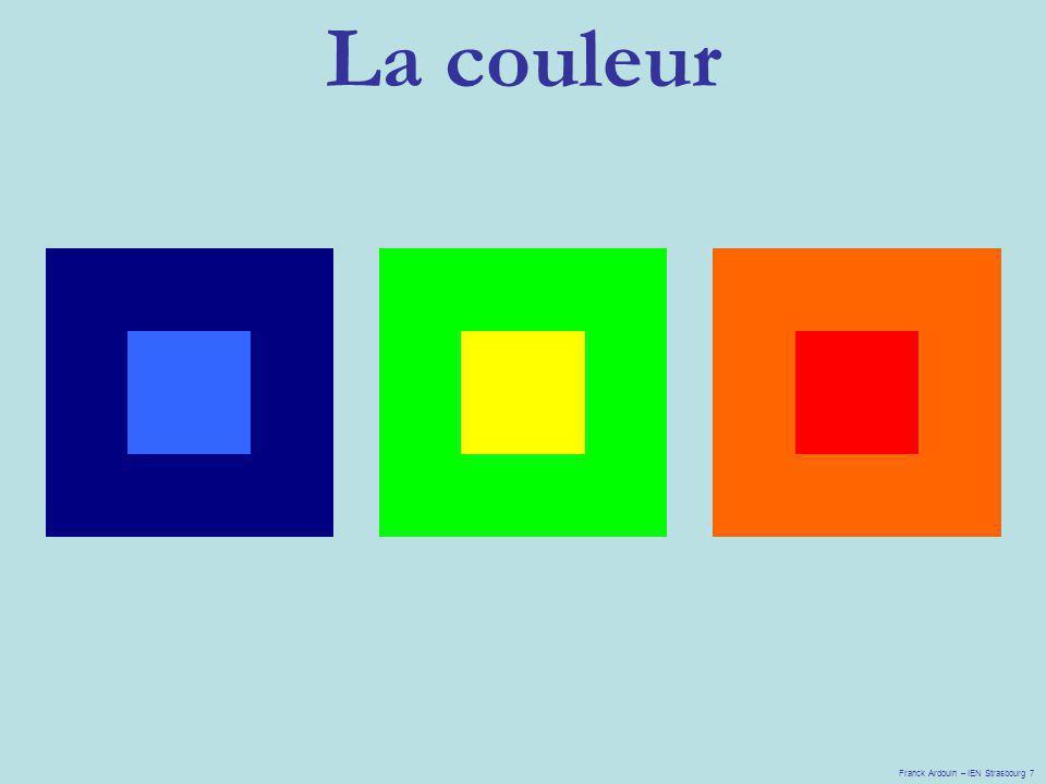 La couleur Franck Ardouin – IEN Strasbourg 7