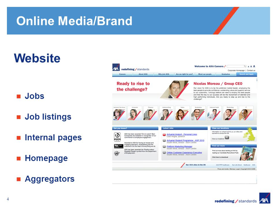 Pour personnaliser le pied de page « Lieu - date »: Affichage / En-tête et pied de page Personnaliser la zone date et pieds de page, Cliquer sur appliquer partout Encombrement maximum du logotype depuis le bord inférieur droit de la page (logo placé à 2/3X du bord; X = logotype) Online Media/Brand 5 Social media Add This button Twitter Facebook LinkedIn
