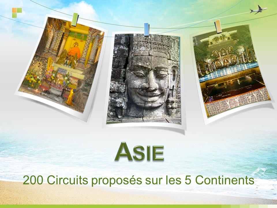 200 Circuits proposés sur les 5 Continents