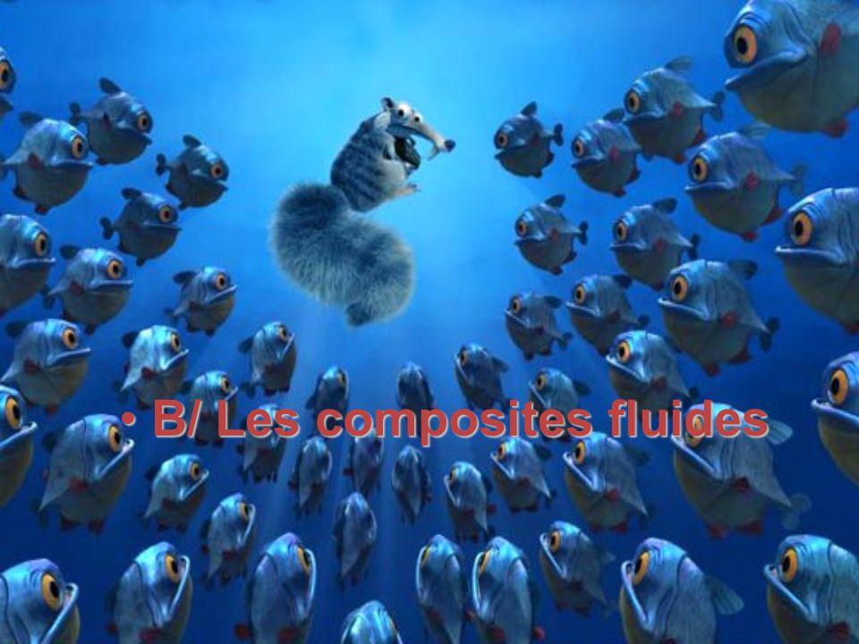 B/ Les composites fluidesB/ Les composites fluides