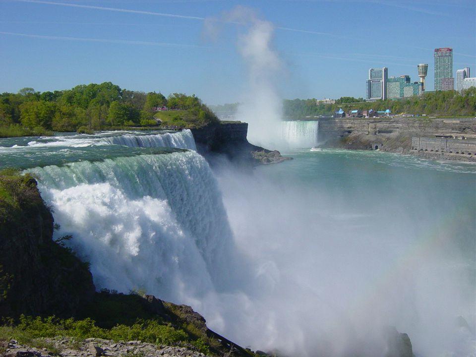 Les chutes du Niagara en 20 photos Arc en ciel dans la vapeur des chutes Américaines