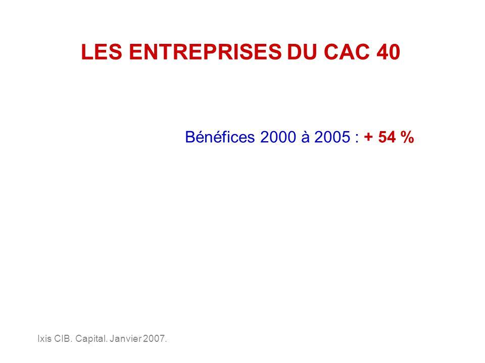 LES ENTREPRISES DU CAC 40