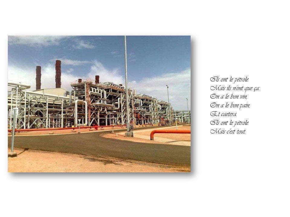 Michel Sardou Ils ont le pétrole… Par Nanou et Stan