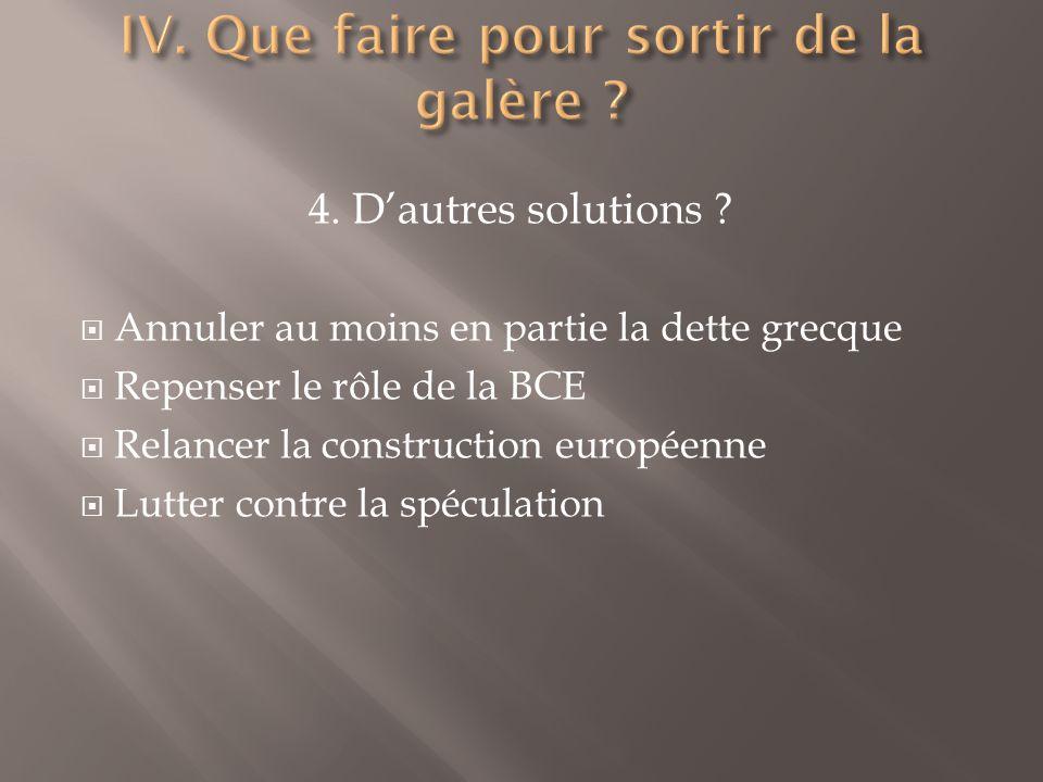 4. Dautres solutions .