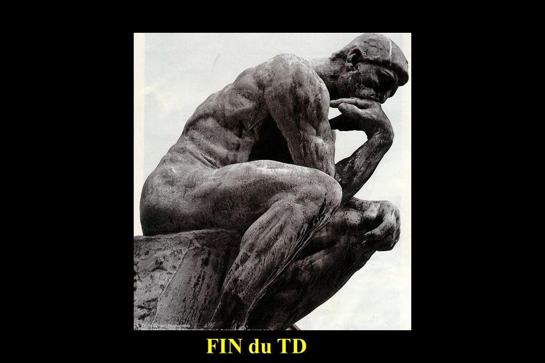 FIN du TD