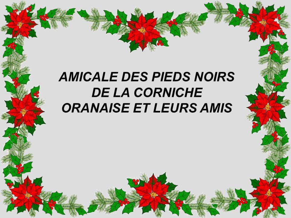 Mes Chers Amis Le Président, les Membres du Bureau et du conseil dAdministration vous souhaitent de passer de très bonnes fêtes de Noël en famille et vous présentent leurs meilleurs vœux de nouvel an à partager avec tous les êtres qui vous sont chers.