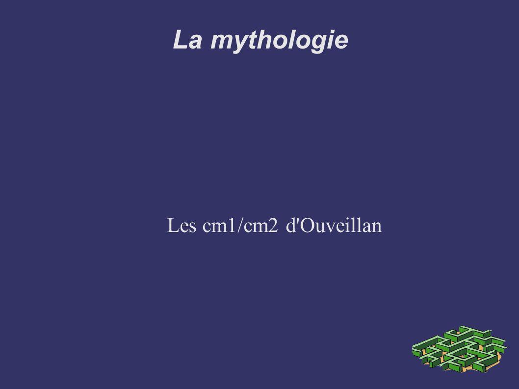 La mythologie Les cm1/cm2 d'Ouveillan