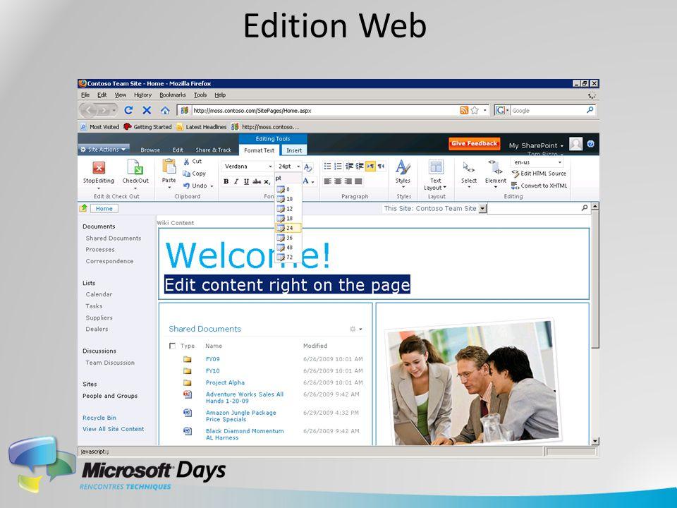 Edition Web