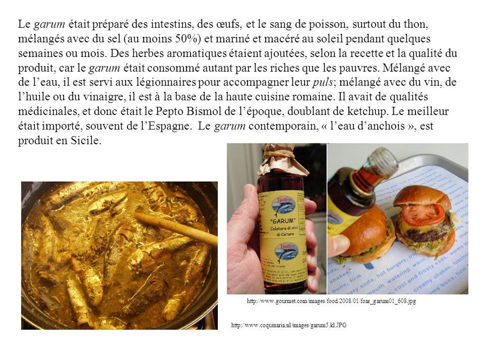 La cuisine médiévale était plus simple, au moins pour le vulgus, car il ny avait plus dimportations ou de commerce interrégional, surtout du grain égyptien ou nord- africain qui avait alimenté lempire.