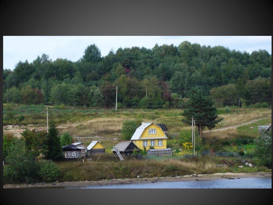 …Et même les maisons anciennes font penser aux maisons amérindiennes du Canada..