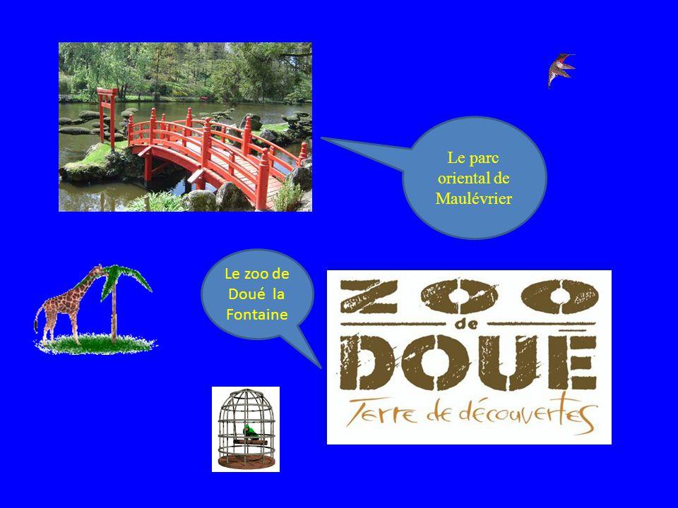 Le parc oriental de Maulévrier Le zoo de Doué la Fontaine