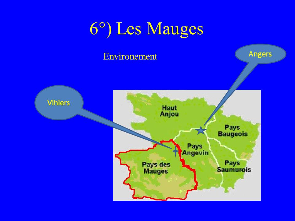 6°) Les Mauges Environement Angers Vihiers