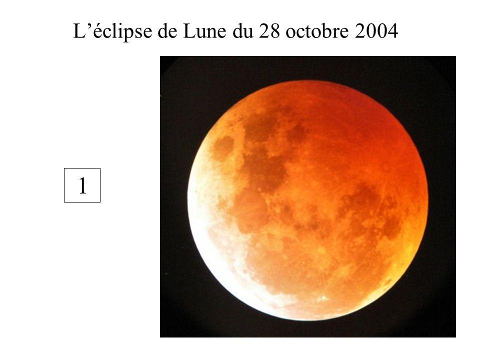 Léclipse de Lune du 28 octobre 2004 1