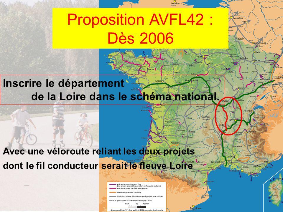 8 ans plus tard Le projet est inscrit dans le schéma national le projet est inscrit dans le schéma régional Le projet est inscrit dans le projet départemental