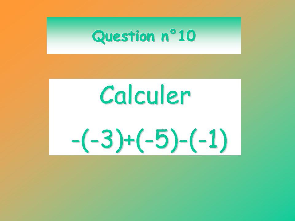 Calculer 65 – 100 - 1