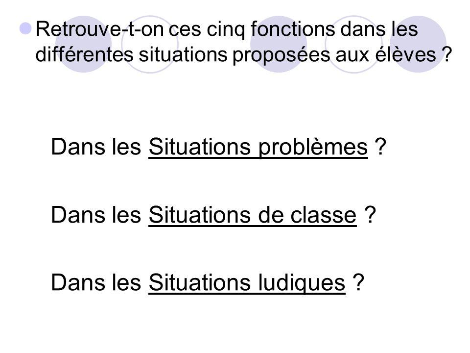 Situations problèmes Définition Situation inédite et concrète.
