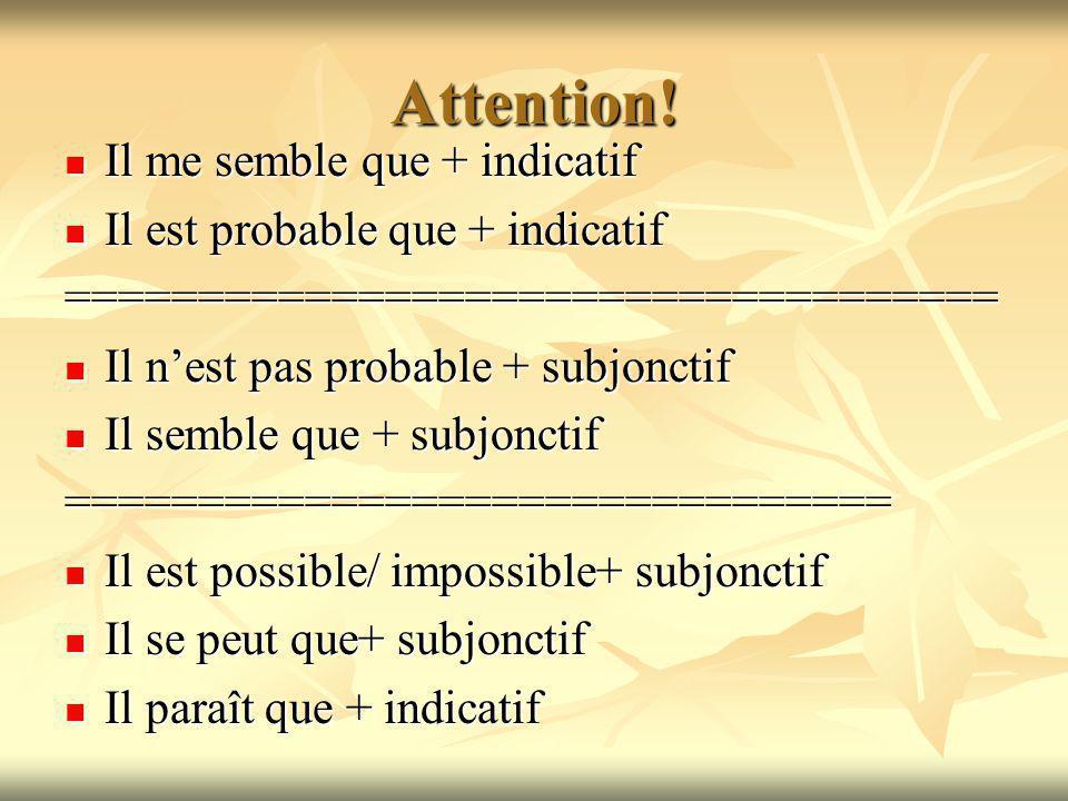 #6: lImpératif Que+ subjonctif .a la 3 personne= may/ let he/she Que+ subjonctif .