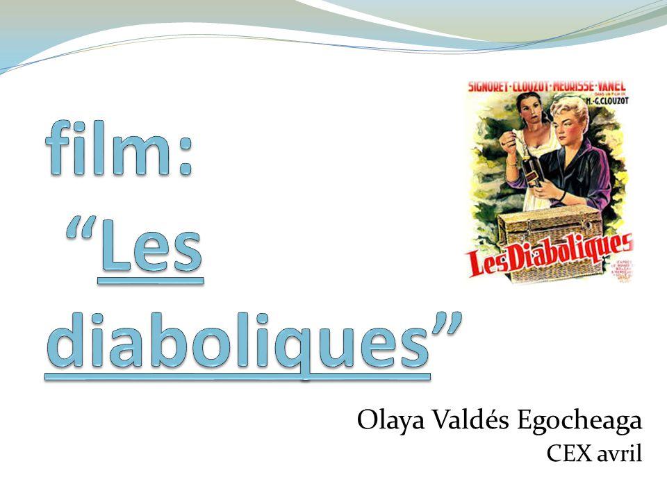 Présentation du film Le directeur est Henri-Georges Clouzot, qui la fait en 1955 Les acteurs du film sont: Simone Signoret (Nicole) Vera Clouzot (Christina) Paul Meurisse (Michel) Charles Vanel (Fichet) Une curiosité du film ce que Johnny Hallyday a fait un petit rôle comme figurant.