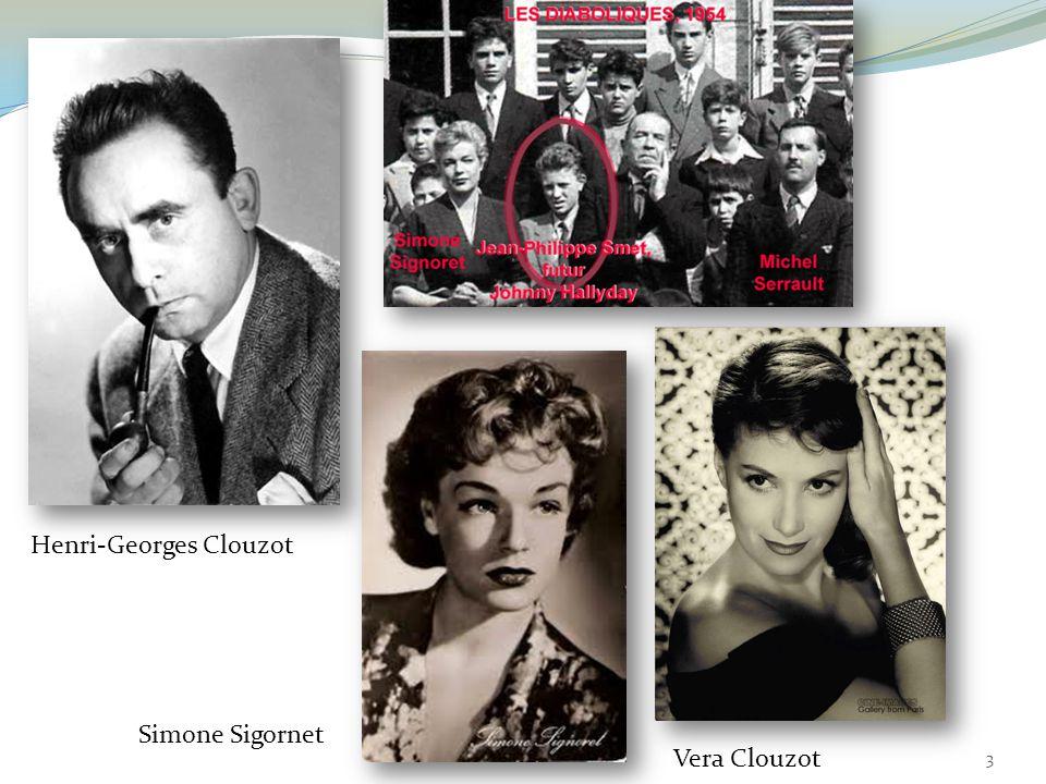 Henri-Georges Clouzot Simone Sigornet Vera Clouzot 3