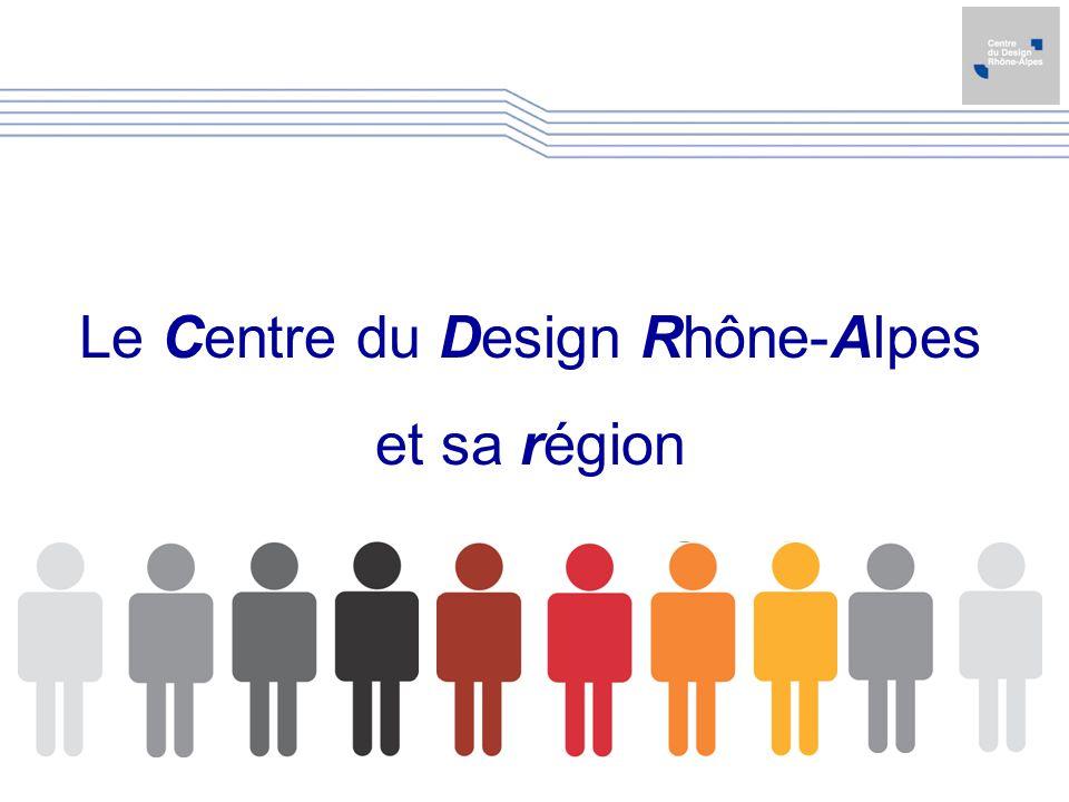 Le Centre du Design Rhône-Alpes et sa région