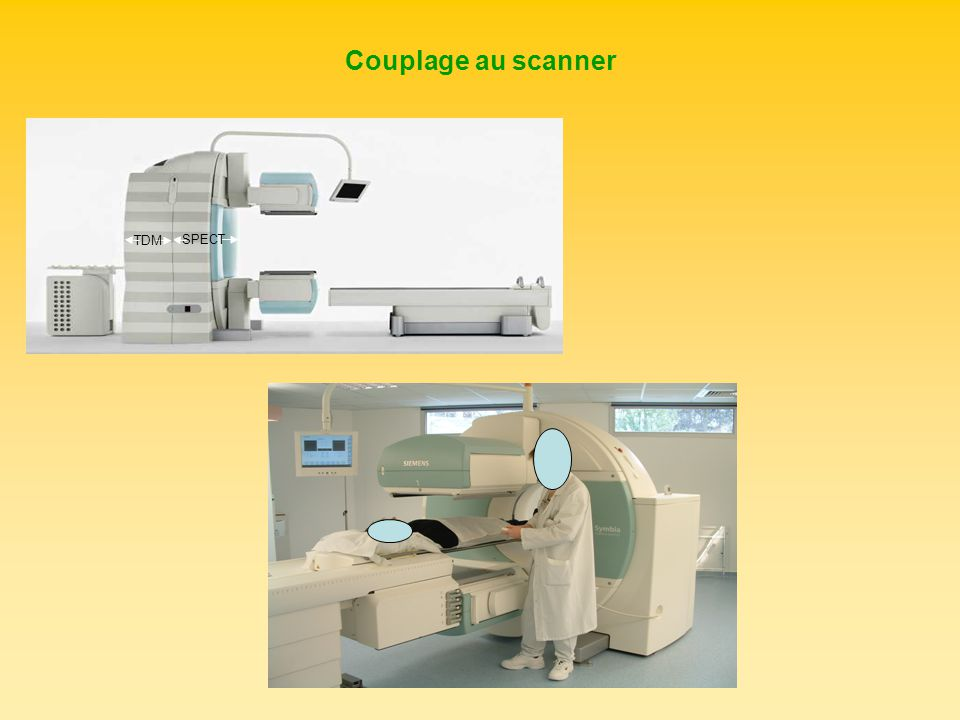 Couplage au scanner SPECT TDM