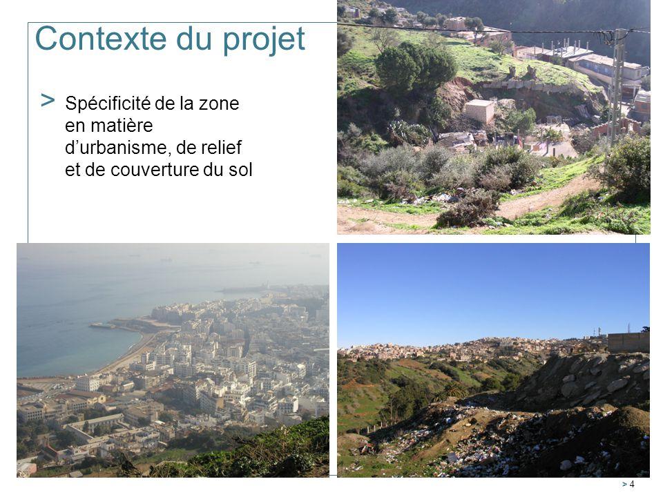 > 4 Contexte du projet > Spécificité de la zone en matière durbanisme, de relief et de couverture du sol