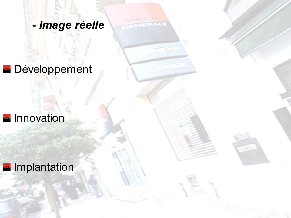- Image réelle Développement Innovation Implantation
