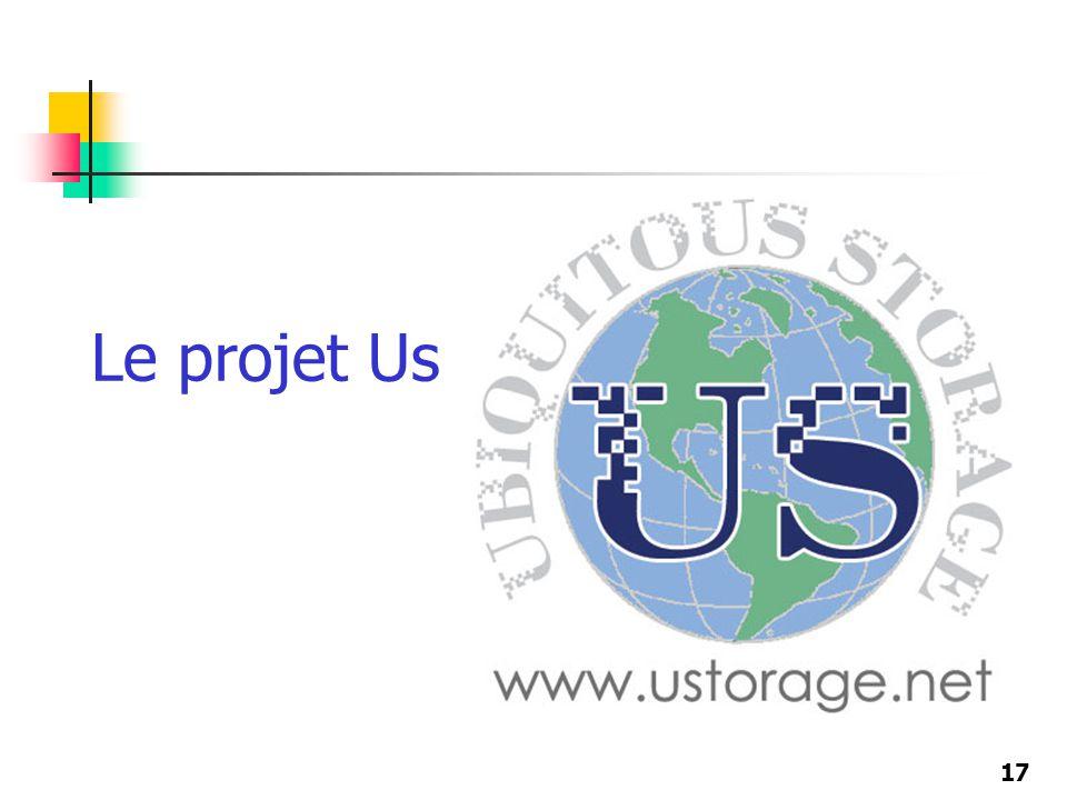 17 Le projet Us