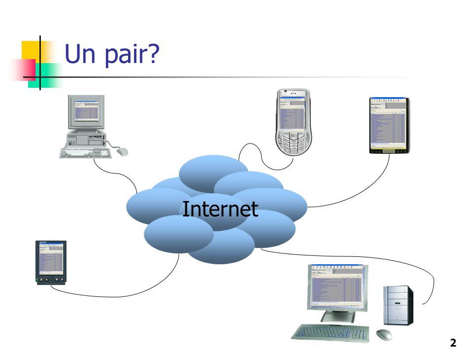 2 Un pair? Internet
