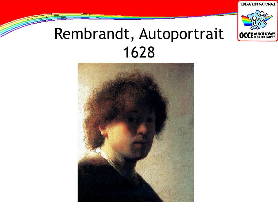 Rembrandt, Autoportrait 1628