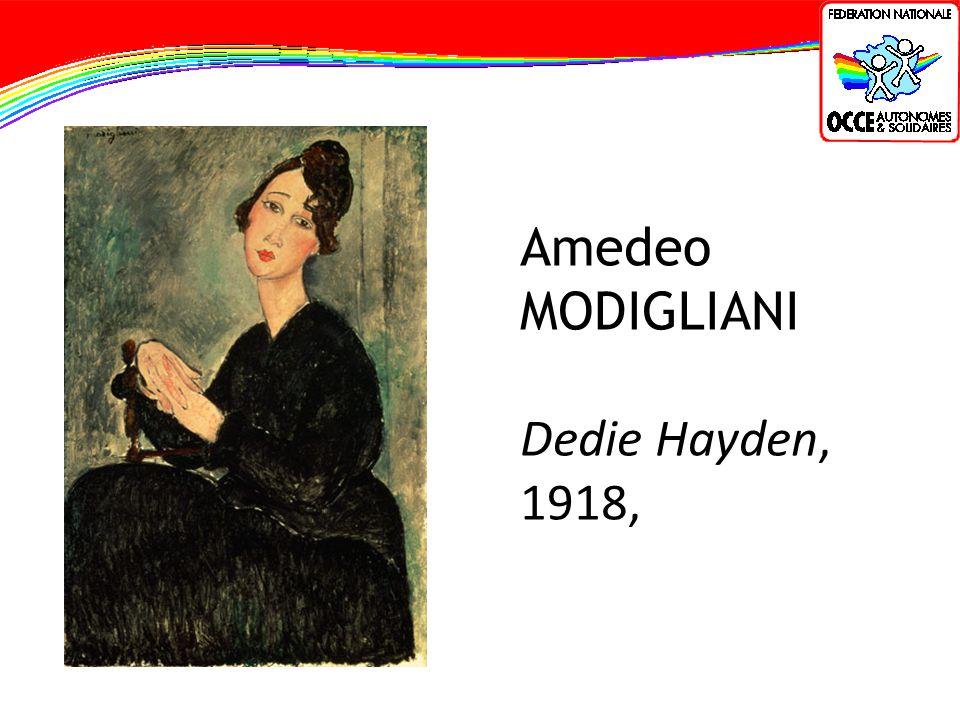 Amedeo MODIGLIANI Dedie Hayden, 1918,
