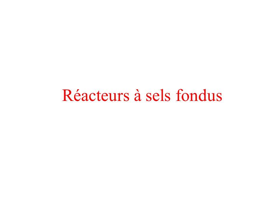 Réacteurs à sels fondus