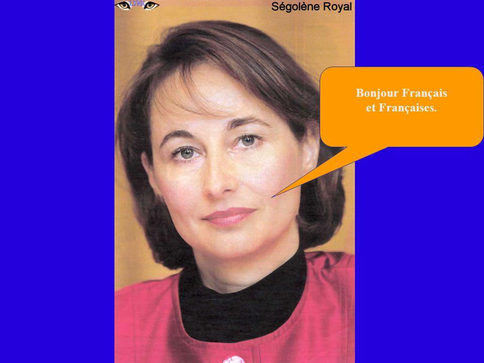 Je suis super contente, car je constate que Je serai certainement la 1 ère femme Présidente de la République