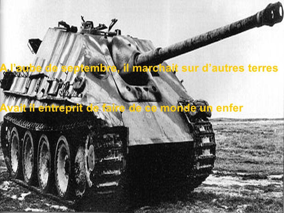 Un temps plutôt, un homme, le défit de la folie Fort de sa nation il séquestra la liberté chérie
