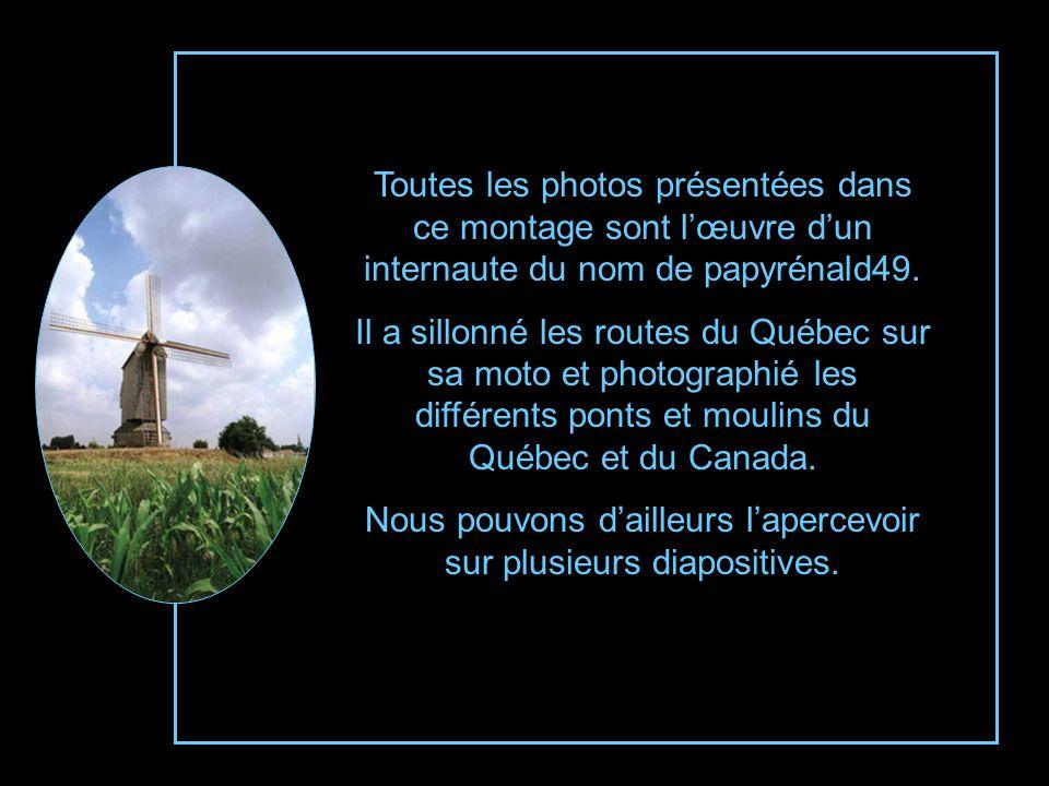 Moulin à vent, domaine du Perchoir de St-Anaclet-de-Lessard dans le comté de Rimouski