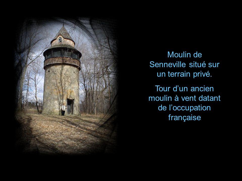 Moulin de Pointe-Claire (1710) qui na subi aucune transformation jusquen 1866.