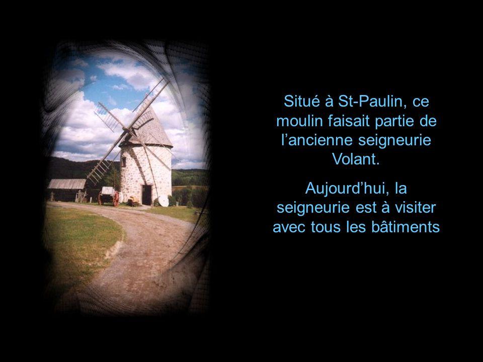 Moulin de lÎle-Aux-Coudres, datant de 1835, situé dans la région de Charlevoix.