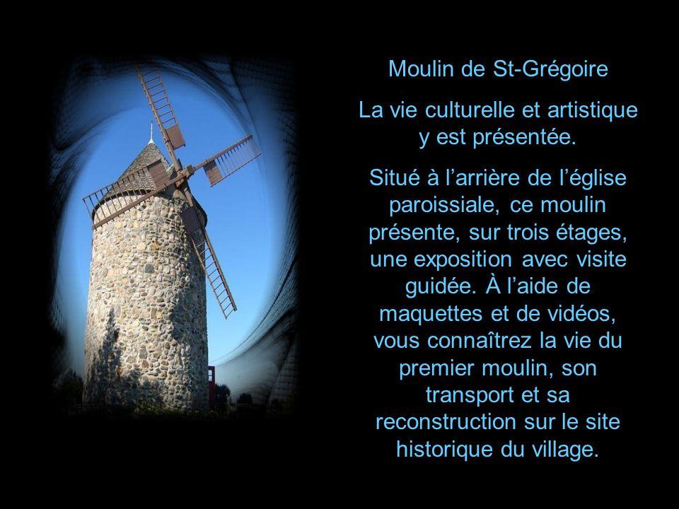 Situé à St-Paulin, ce moulin faisait partie de lancienne seigneurie Volant.