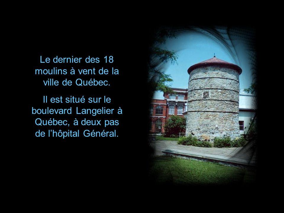 Moulin de Grondines Construit en1674, ce moulin à vent fut converti en station de signaux maritimes en 1912.