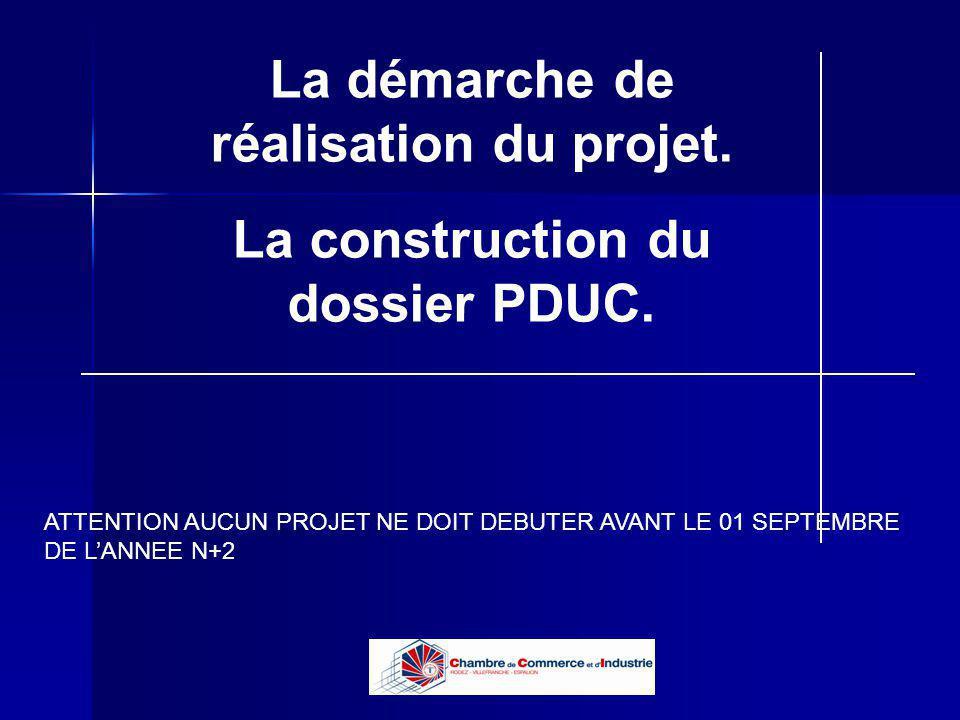 Lycée B de Perthes - Abbeville Lycée De Gaulle - Vannes La démarche de réalisation du projet. La construction du dossier PDUC. ATTENTION AUCUN PROJET