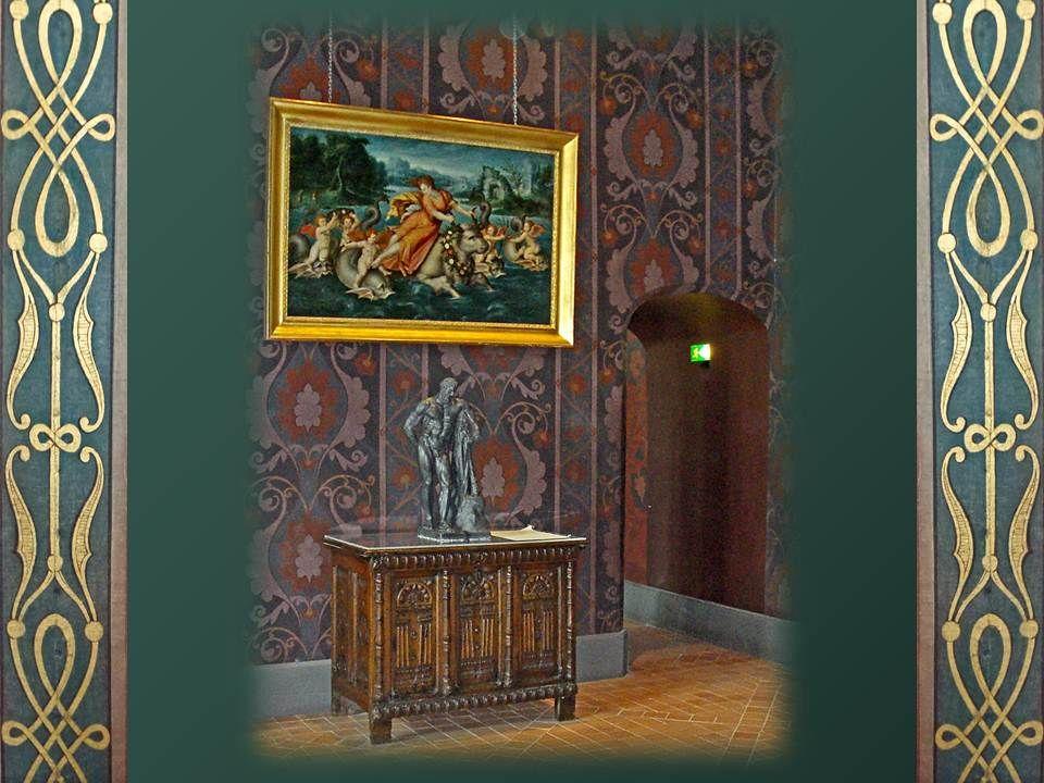 Cette salle daudience ou du roi est ouverte à tous. Elle est également une salle des pas perdus pour les courtisans comme pour les archers qui en ont
