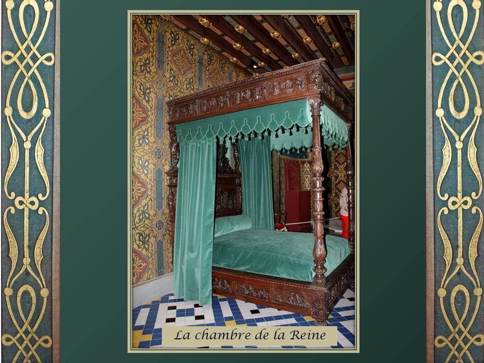 La galerie de la Reine Cest dans cette salle que lon attendait Catherine de Médicis