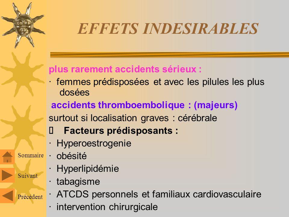 EFFETS INDESIRABLES Prssion arterielle (PA ) - diminution modérée et passagère - lapparition dune véritable HTA =>arrêt du traitement peau et phanères