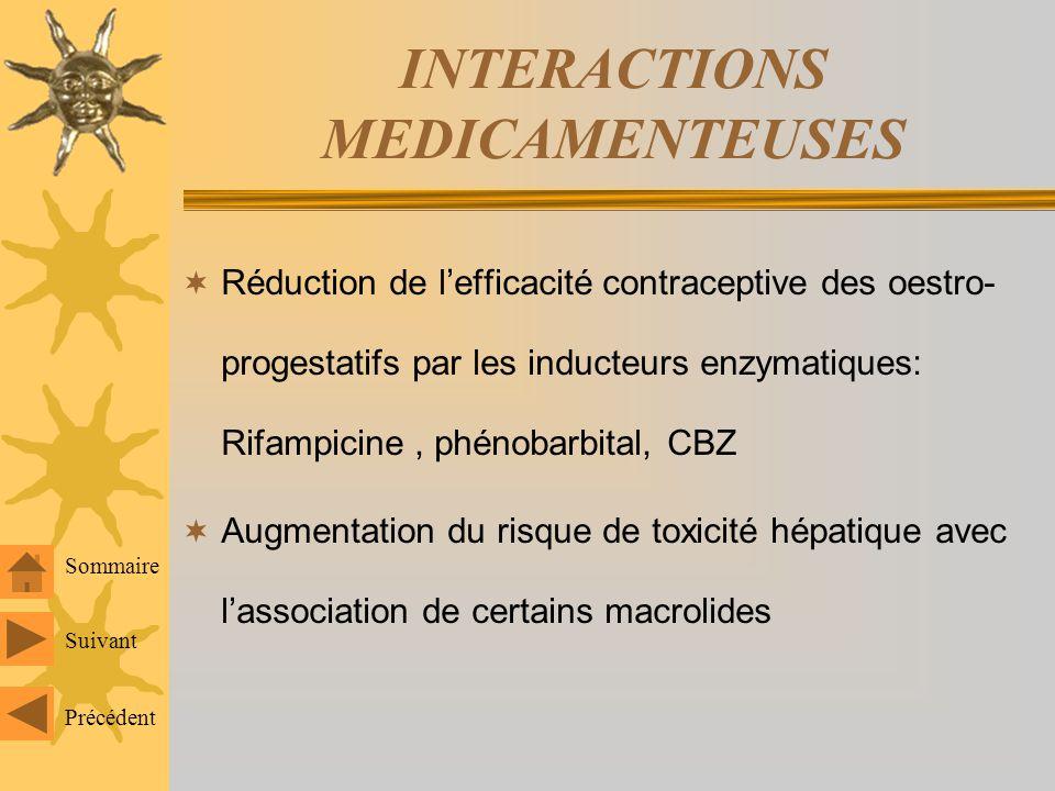 EFFETS INDESIRABLES Accident hépatique : surtout hépatite cholestatique pfs mixte glt bio mais peut être évidente si att hépatique préexistante Tumeur