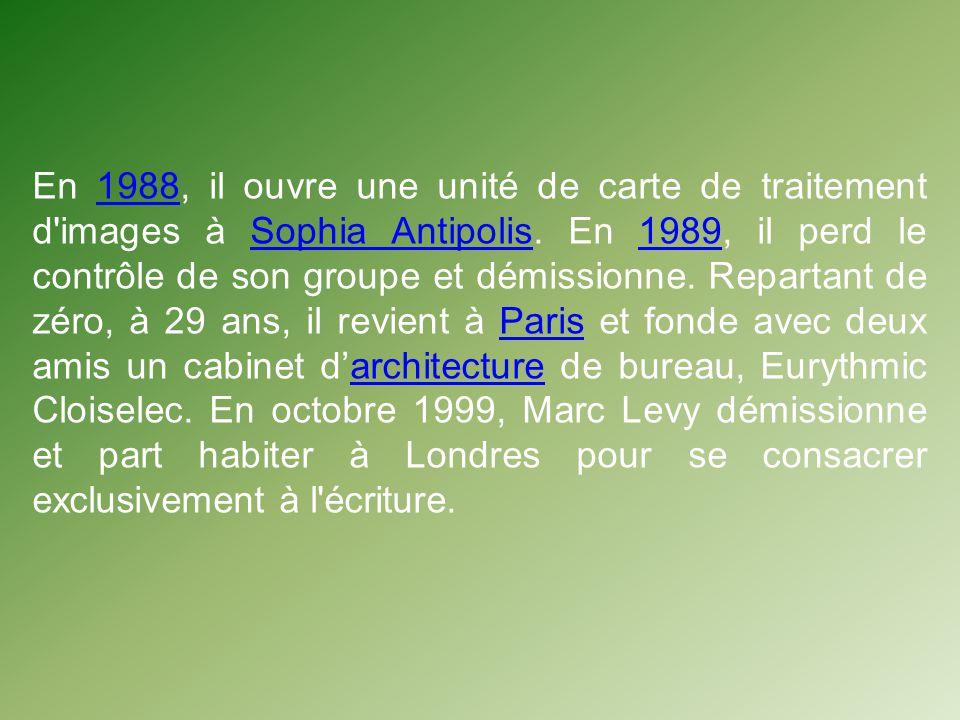 En 1988, il ouvre une unité de carte de traitement d images à Sophia Antipolis.